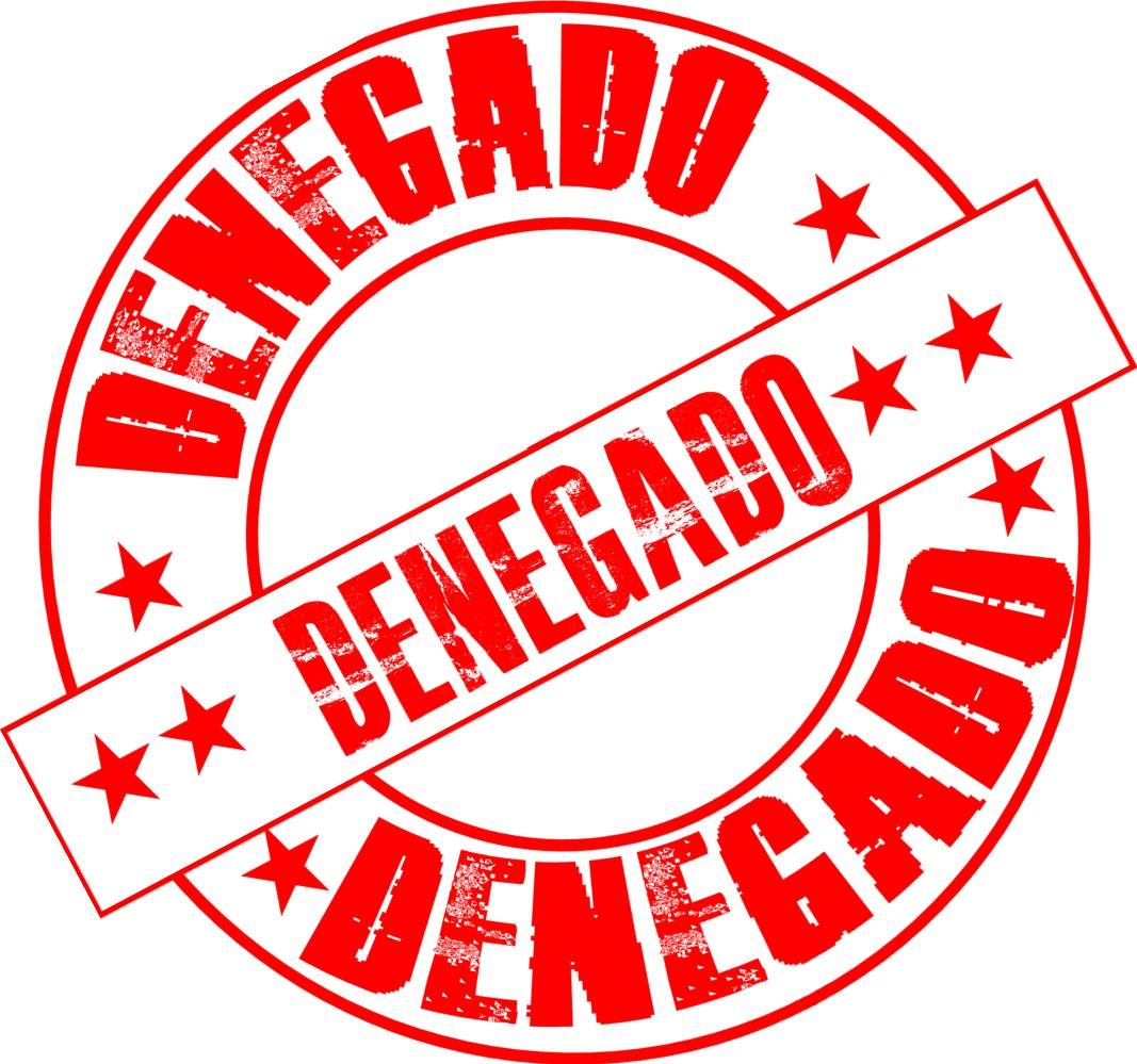 denegado