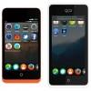 Los teléfonos de GeeksPhone corriendo el S.O de Firefox. Keon a la izquierda y Peak a la derecha