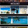 Una captura de pantalla de mi app Miami for Cruisers