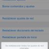 Arreglar iMessage