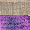 Diario de Livingstone que originalmente fue escrito en un periódico con jugo de arándano